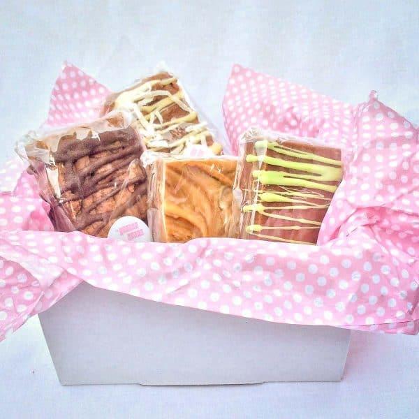 Chocolate Fudge Gift Box $22, The Joyous Baker