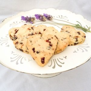 Chocolate Cranberry Shortbread $6, The Joyous Baker - pack of 6 approx 100g