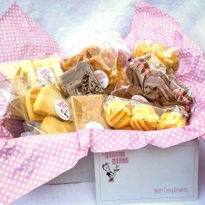 Cookie Box $26 - 2x Yoyos, 2x Shortbread, 1x Honey Bears, The Joyous Baker