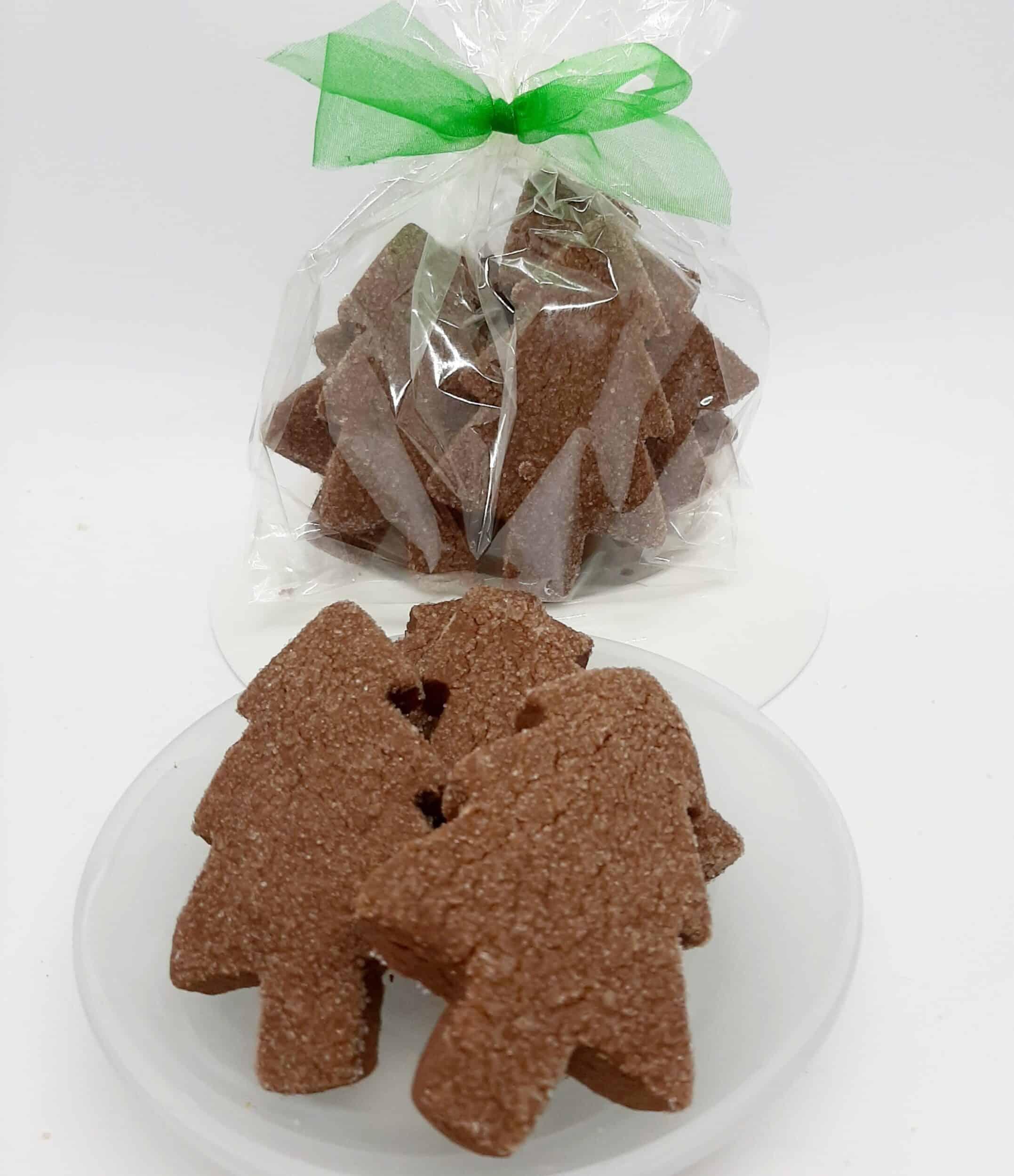 GF Chocolate Shortbread